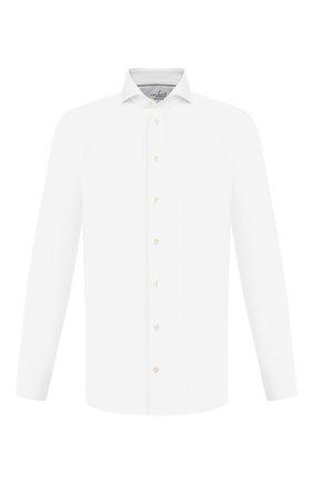 Мужская хлопковая сорочка VAN LAACK белого цвета, арт. RES0-PSFN/150142 | Фото 1