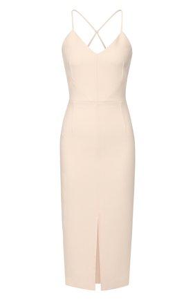 Женское платье ROLAND MOURET светло-розового цвета, арт. PS20/S0861/F2196 | Фото 1