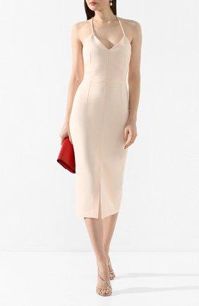 Женское платье ROLAND MOURET светло-розового цвета, арт. PS20/S0861/F2196 | Фото 2