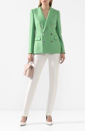 Женский кашемировый жакет RALPH LAUREN зеленого цвета, арт. 290625543 | Фото 2