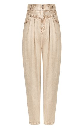 Женские джинсы DOLCE & GABBANA бежевого цвета, арт. FTB0LD/G899F | Фото 1