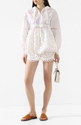 Женская куртка REDVALENTINO белого цвета, арт. TR0CI00Y/51K | Фото 2
