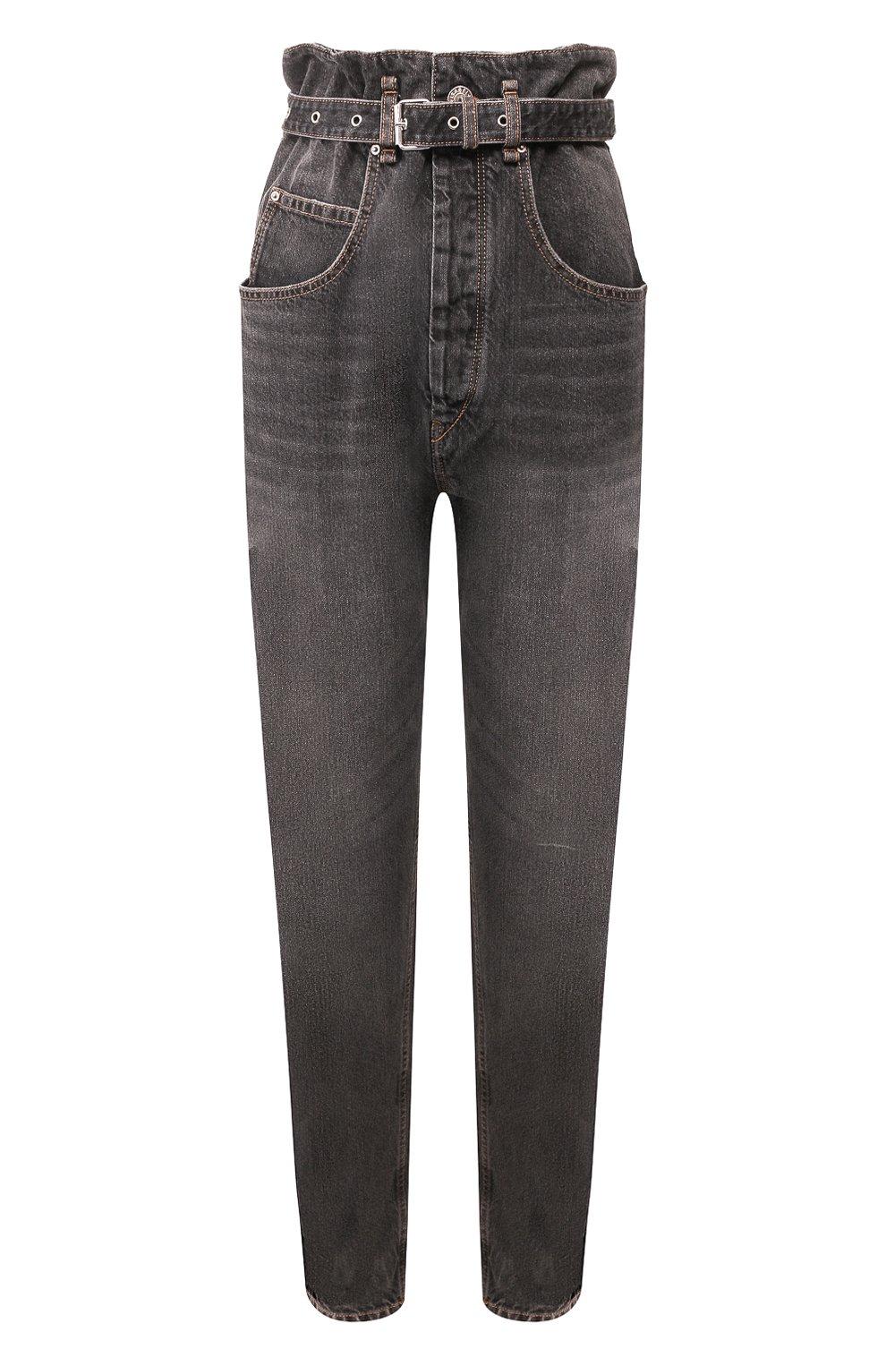 Женские джинсы ISABEL MARANT ETOILE черного цвета, арт. PA1550-20P016E/GL0RIA | Фото 1