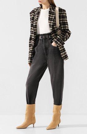 Женские джинсы ISABEL MARANT ETOILE черного цвета, арт. PA1550-20P016E/GL0RIA | Фото 2