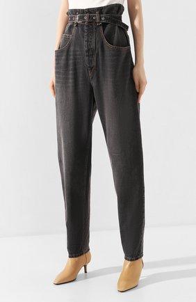 Женские джинсы ISABEL MARANT ETOILE черного цвета, арт. PA1550-20P016E/GL0RIA | Фото 3