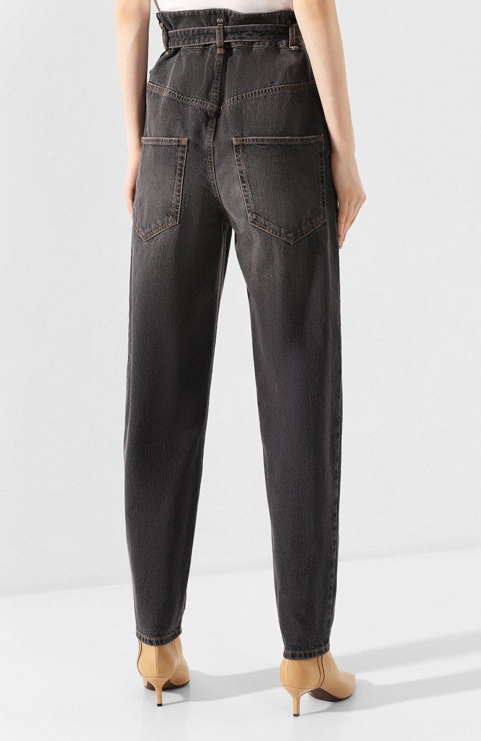 Женские джинсы ISABEL MARANT ETOILE черного цвета, арт. PA1550-20P016E/GL0RIA | Фото 4