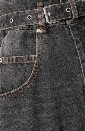 Женские джинсы ISABEL MARANT ETOILE черного цвета, арт. PA1550-20P016E/GL0RIA | Фото 5