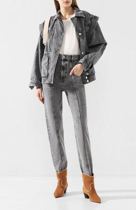 Женские джинсы ISABEL MARANT ETOILE серого цвета, арт. PA1517-20P017E/HEN0YA | Фото 2
