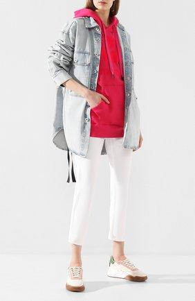 Женские джинсы ISABEL MARANT ETOILE белого цвета, арт. PA1135-20P018E/NEA   Фото 2