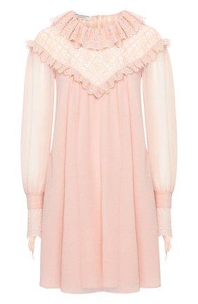 Женское платье PHILOSOPHY DI LORENZO SERAFINI розового цвета, арт. A0422/717 | Фото 1