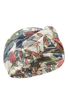 Женская шелковая повязка на голову INVERNI разноцветного цвета, арт. 4824FT | Фото 1