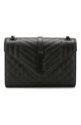 Женская сумка envelope medium SAINT LAURENT черного цвета, арт. 600185/B0W98 | Фото 1