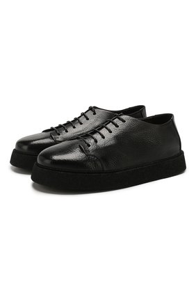 Мужские кожаные ботинки MARSELL черного цвета, арт. MM3195/PELLE V0L0NATA | Фото 1