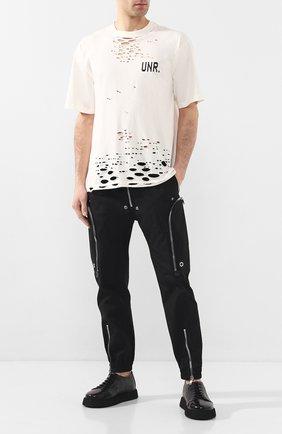 Мужские кожаные ботинки MARSELL черного цвета, арт. MM3195/PELLE V0L0NATA | Фото 2