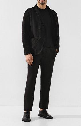 Мужской кожаные дерби MARSELL черного цвета, арт. MM3101/PELLE V0L0NATA | Фото 2