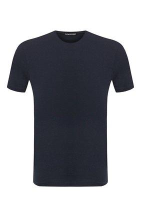Мужская футболка TOM FORD темно-синего цвета, арт. BU229/TFJ950   Фото 1