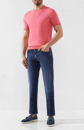 Мужской хлопковый джемпер SVEVO розового цвета, арт. 4650/3SE20/MP46 | Фото 2