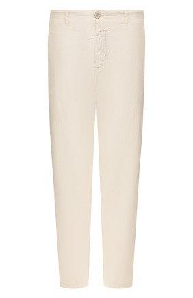 Мужской хлопковые брюки TRANSIT бежевого цвета, арт. CFUTRKB110 | Фото 1