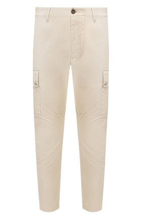 Мужской хлопковые брюки-карго DSQUARED2 бежевого цвета, арт. S74KB0385/S41794 | Фото 1