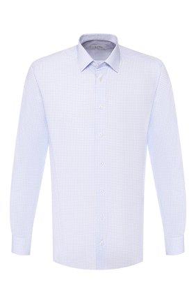 Мужская хлопковая сорочка ETON голубого цвета, арт. 1000 00512 | Фото 1
