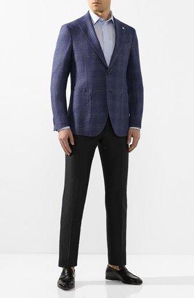 Мужская хлопковая сорочка ETON голубого цвета, арт. 1000 00512 | Фото 2