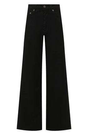 Женские расклешенные джинсы KSUBI черного цвета, арт. 5000004493   Фото 1