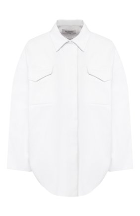 Женская джинсовая куртка VALENTINO белого цвета, арт. TB3DB00L1Y0 | Фото 1