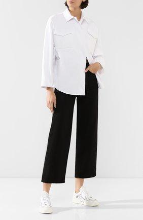 Женская джинсовая куртка VALENTINO белого цвета, арт. TB3DB00L1Y0 | Фото 2