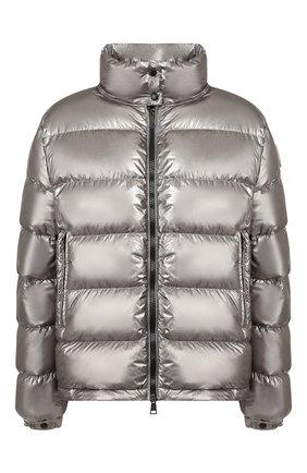 Женский пуховая куртка gris MONCLER серебряного цвета, арт. F1-093-1A520-00-C0437 | Фото 1