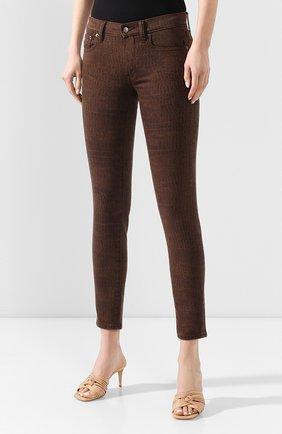 Женские джинсы POLO RALPH LAUREN коричневого цвета, арт. 211778633   Фото 3