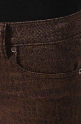Женские джинсы POLO RALPH LAUREN коричневого цвета, арт. 211778633   Фото 5