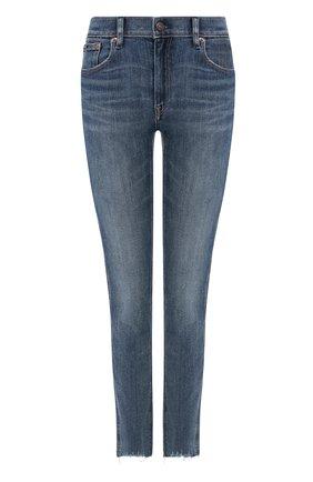 Женские джинсы POLO RALPH LAUREN темно-синего цвета, арт. 211799650 | Фото 1
