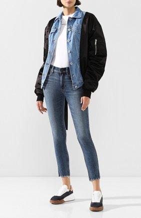 Женские джинсы POLO RALPH LAUREN темно-синего цвета, арт. 211799650 | Фото 2