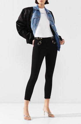 Женские джинсы VERSACE JEANS COUTURE черного цвета, арт. A1HVA023-VDP523/APV54 | Фото 2