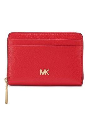 Женские кожаное портмоне mott MICHAEL MICHAEL KORS красного цвета, арт. 34F9GF6Z1L | Фото 1