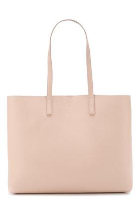 Женская сумка-тоут shopping large SAINT LAURENT светло-розового цвета, арт. 600281/CSV0J | Фото 1