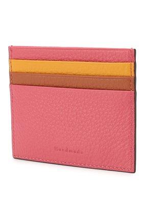 Женский кожаный футляр для кредитных карт COCCINELLE розового цвета, арт. E2 FW5 12 95 01 | Фото 2