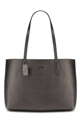 Женская сумка-тоут central COACH темно-серого цвета, арт. 79572 | Фото 1