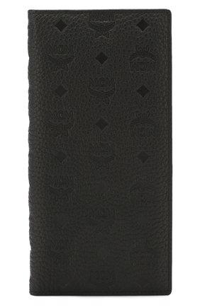 Женские кожаный кошелек tivitat MCM черного цвета, арт. MXL 9ABT22 | Фото 1