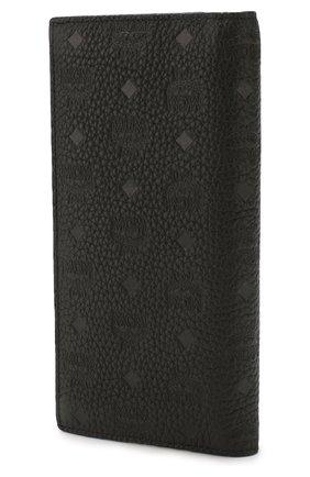 Женские кожаный кошелек tivitat MCM черного цвета, арт. MXL 9ABT22 | Фото 2