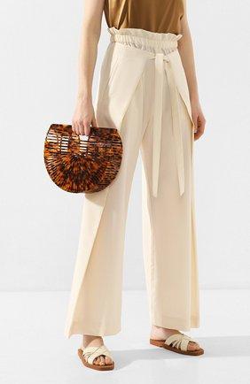 Женская сумка ark small CULT GAIA темно-коричневого цвета, арт. 20003AC TRT | Фото 2