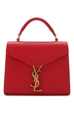 Женская сумка cassandra mini SAINT LAURENT красного цвета, арт. 602716/B0W0W | Фото 1