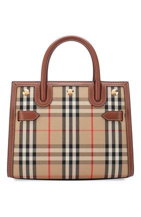 Женская сумка title small BURBERRY бежевого цвета, арт. 8025267   Фото 1