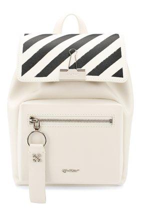 Женский рюкзак diag OFF-WHITE белого цвета, арт. 0WNB007R204230690210 | Фото 1