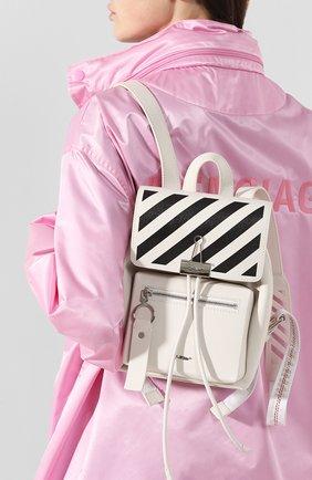 Женский рюкзак diag OFF-WHITE белого цвета, арт. 0WNB007R204230690210 | Фото 2