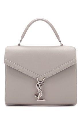 Женская сумка cassandra medium SAINT LAURENT светло-серого цвета, арт. 578000/B0W0N | Фото 1