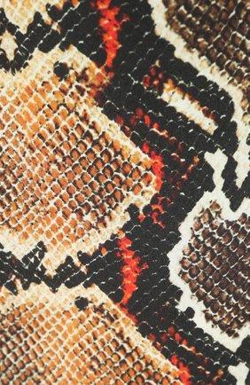 Мужские кашемировый шарф BURBERRY разноцветного цвета, арт. 8025257 | Фото 2