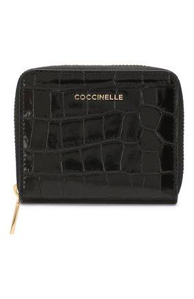 Женские кожаное портмоне COCCINELLE черного цвета, арт. E2 FW9 11 A2 01 | Фото 1