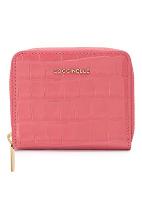 Женские кожаное портмоне COCCINELLE розового цвета, арт. E2 FW9 11 A2 01   Фото 1