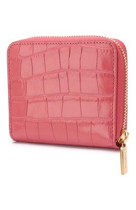 Женские кожаное портмоне COCCINELLE розового цвета, арт. E2 FW9 11 A2 01   Фото 2
